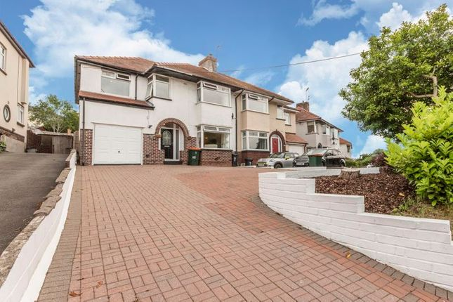Thumbnail Semi-detached house for sale in Caerphilly Road, Bassaleg, Newport