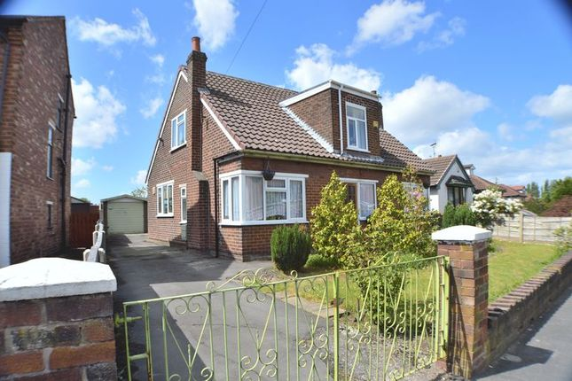 Thumbnail Detached house for sale in Ashwood Avenue, Denton, Manchester
