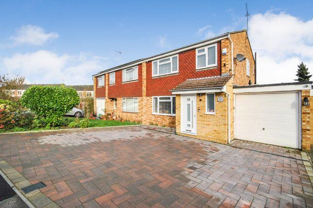 Thumbnail Semi-detached house for sale in The Crest, Sawbridgeworth, Hertfordshire