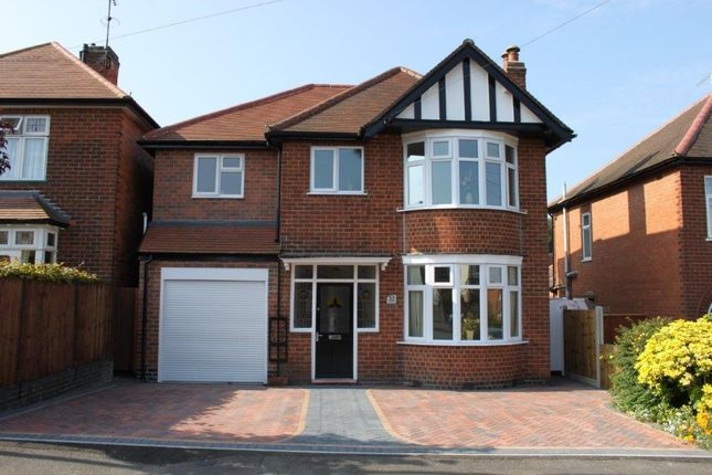 Thumbnail Detached house for sale in Kings Drive, Littleover, Derby