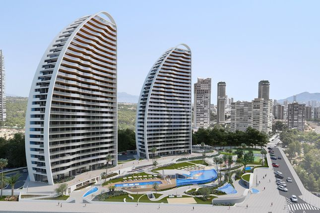 Thumbnail Apartment for sale in Sunset Waves, Poniente, Benidorm, Alicante, Valencia, Spain