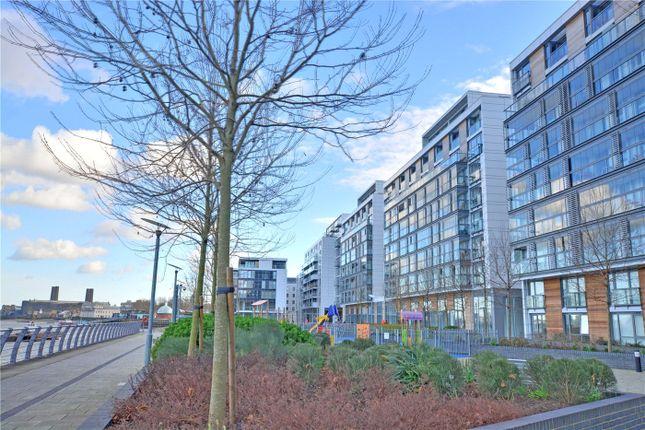 External of Canary View, 23 Dowells Street, Greenwich, London SE10