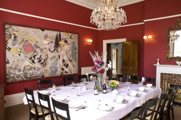 Dining Room of Rumwell Park, Taunton, Somerset TA4