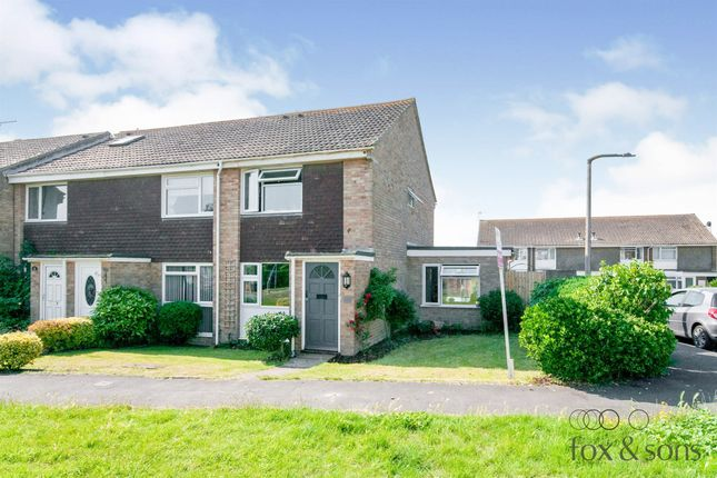 Thumbnail Semi-detached house for sale in Barn Rise, Seaford