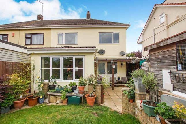 Semi-detached house for sale in Rossall Avenue, Little Stoke, Bristol