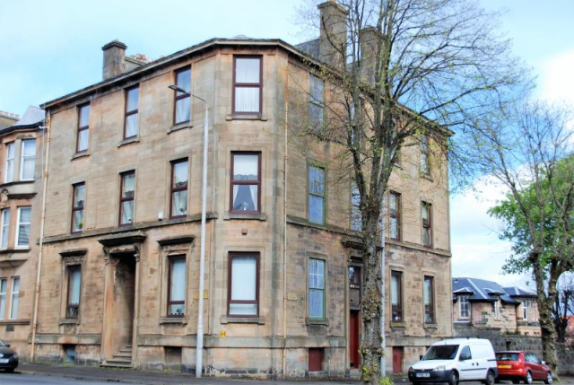 Thumbnail Flat to rent in Forsyth Street, Greenock Unfurnished