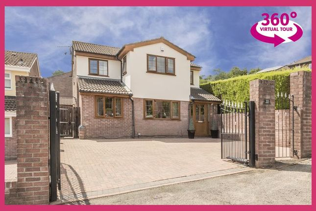 Thumbnail Detached house for sale in Spring Grove, Greenmeadow, Cwmbran