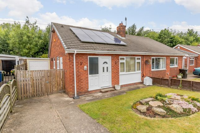 Thumbnail Semi-detached bungalow for sale in Weaponness Valley Road, Scarborough, North Yorkshire