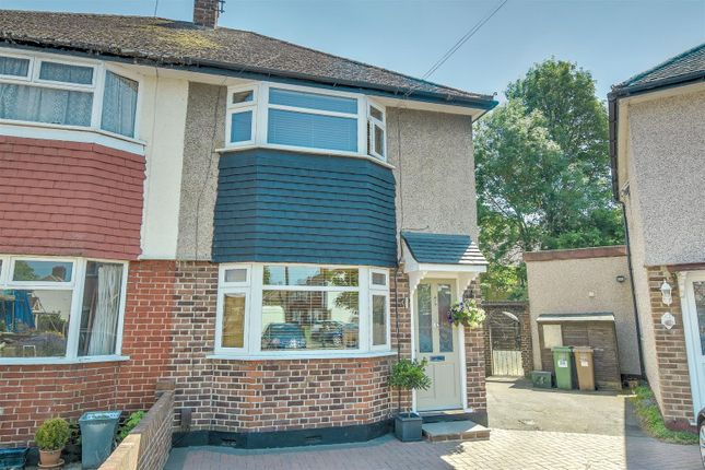 Thumbnail Semi-detached house for sale in Ansell Grove, Carshalton