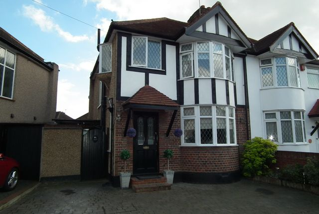 Thumbnail Semi-detached house to rent in Park Crescent, Harrow Weald
