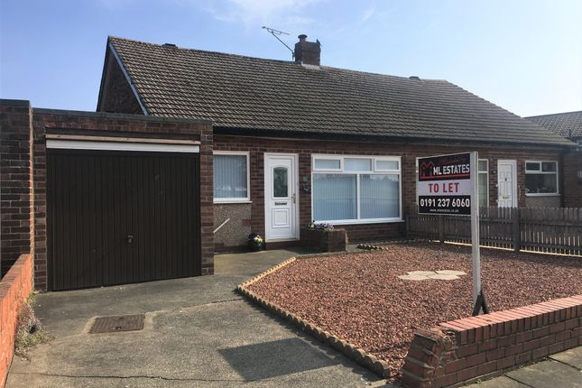 Thumbnail Semi-detached bungalow to rent in Hayton Road, North Shields