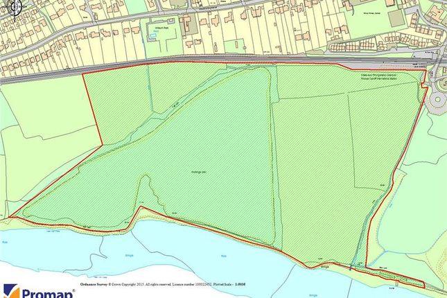 Thumbnail Land for sale in Land At Rhoose Point, Rhoose, Vale Of Glamorgan, UK