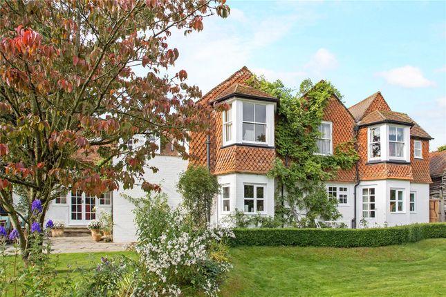 Thumbnail Detached house for sale in Crondall Road, Crookham Village, Fleet, Hampshire