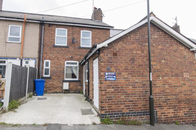 3 bed terraced house for sale in Traffic Terrace, Barrow Hill, Chesterfield S43