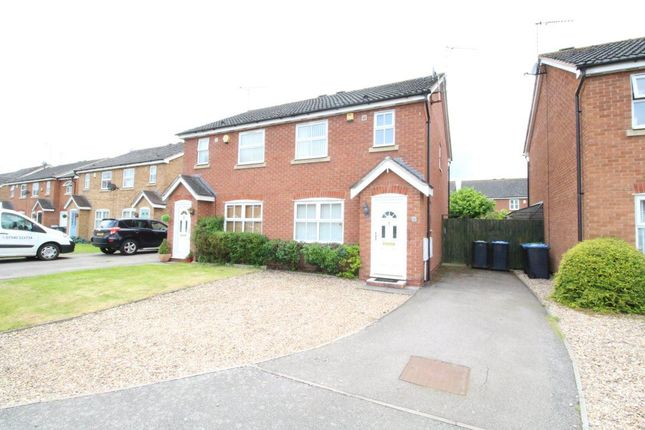Thumbnail Semi-detached house to rent in William Cree Close, Wolston, Coventry