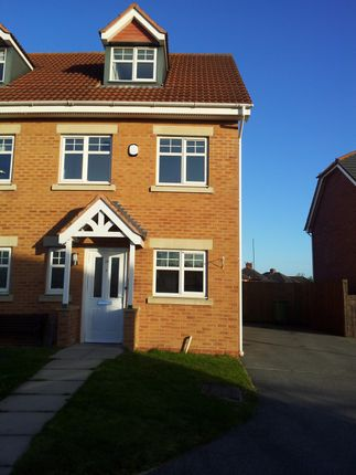 Thumbnail Semi-detached house to rent in Weavermill Park, Ashton-In-Makerfield, Wigan