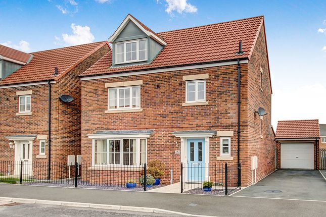 Thumbnail Detached house for sale in Ilderton Crescent, Seaton Delaval, Whitley Bay