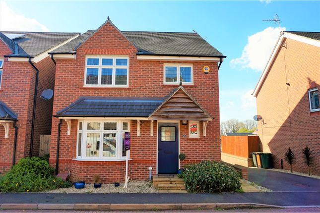 Thumbnail Detached house for sale in Kent Way, Church Gresley, Swadlincote