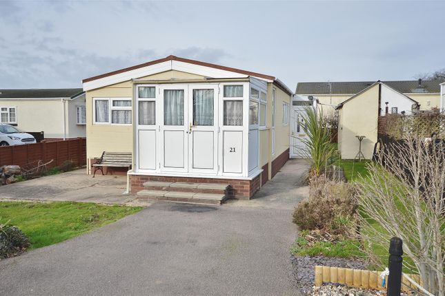 Thumbnail Mobile/park home for sale in Greenlawns, St. Osyth Road East, Little Clacton