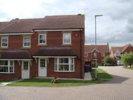 Thumbnail Semi-detached house to rent in Coupland Close, Gainsborough