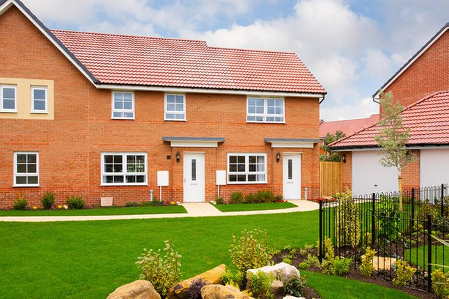 "Thumbnail End terrace house for sale in ""Roseberry"" at Morgan Drive, Whitworth, Spennymoor"
