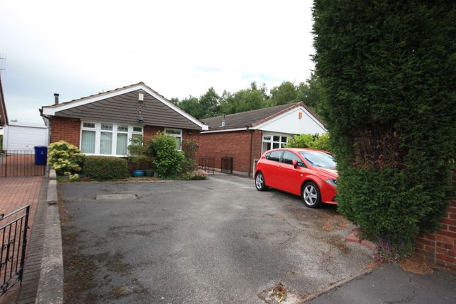 Thumbnail Detached bungalow for sale in Tarvin Grove, Packmoor, Stoke-On-Trent