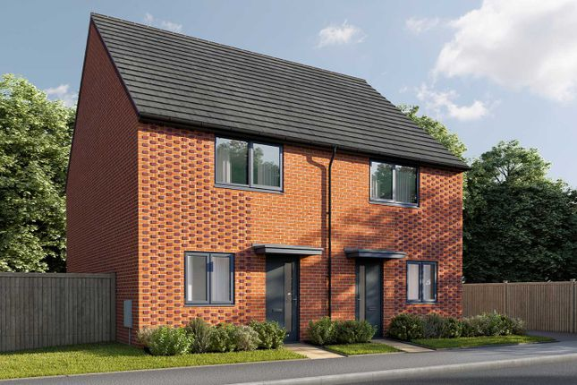 """Thumbnail Semi-detached house for sale in """"The Cartwright"""" at Parsonage Close, Highfields Caldecote, Cambridge"""