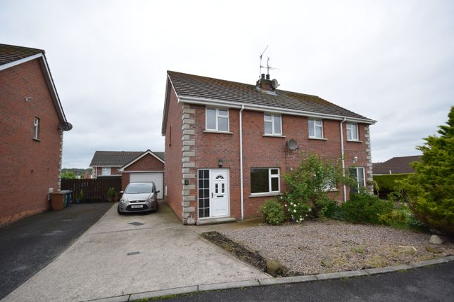 Thumbnail Semi-detached house to rent in Timakeel Manor, Portadown