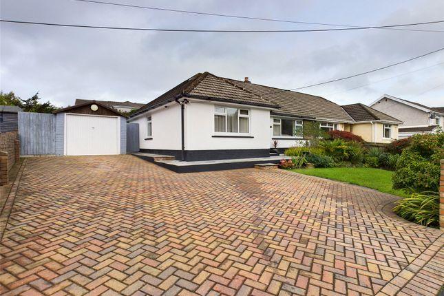 Thumbnail Bungalow for sale in Rassau Road, Rassau, Ebbw Vale, Gwent