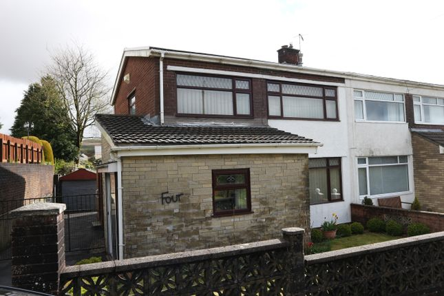 Thumbnail Semi-detached house for sale in The Rise, Pant, Merthyr Tydfil