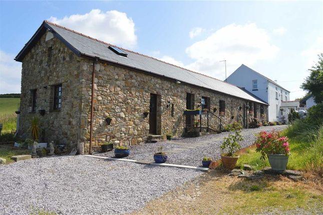 Thumbnail Detached house for sale in Blaen Cedi Farm, Blue Anchor, Swansea