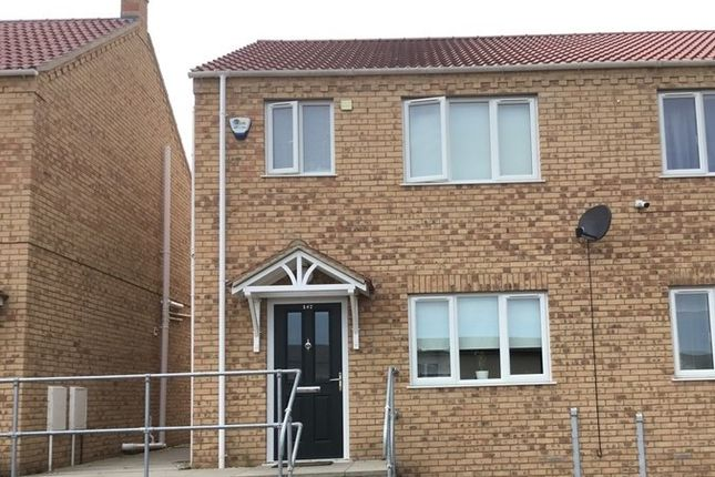 3 bed semi-detached house to rent in Osborne Road, Wisbech PE13