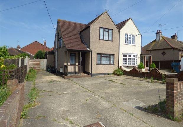 Thumbnail Semi-detached house for sale in High Road, Benfleet, Benfleet