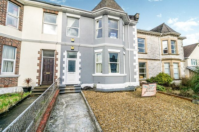 Thumbnail Terraced house for sale in Milehouse Road, Plymouth