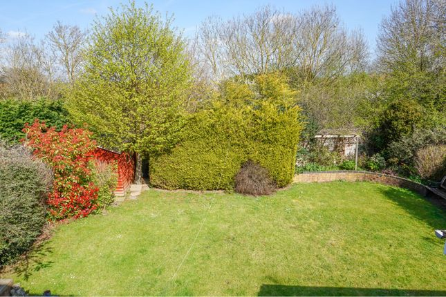 Rear Garden of St. Crispins Way, Raunds, Wellingborough NN9