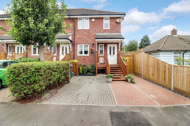 Thumbnail End terrace house to rent in Bowes Road, Staines