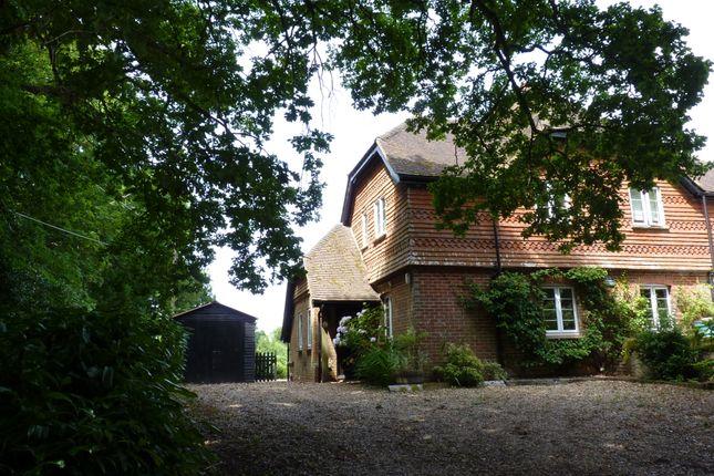 Thumbnail Cottage to rent in Woolmer Lane, Bramshott, Liphook