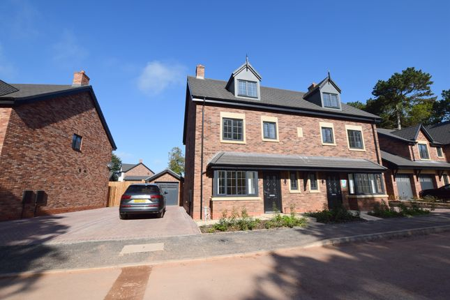Thumbnail Semi-detached house to rent in Westerdale Drive, Keele, Newcastle