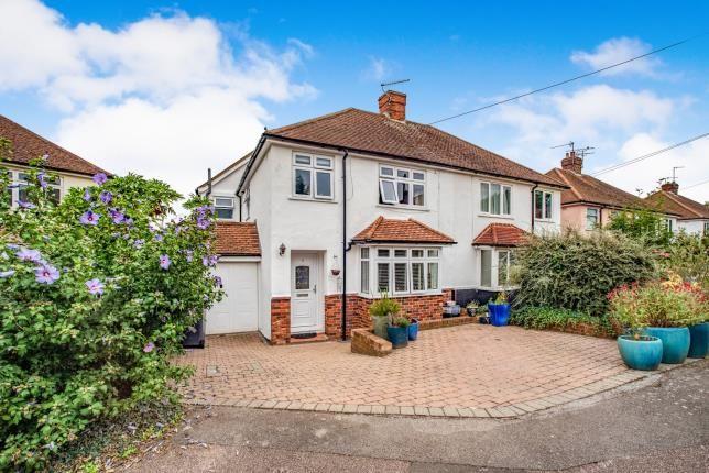 Thumbnail Semi-detached house for sale in Royal Avenue, Tonbridge, Kent