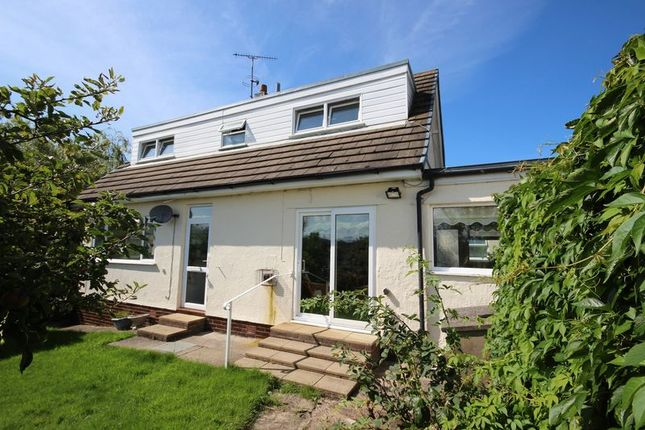 Thumbnail Detached bungalow for sale in Erw Fawr, Henryd, Conwy