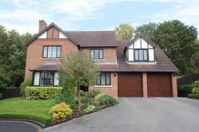 Thumbnail Detached house for sale in The Spinney, Harlow Wood, Mansfield