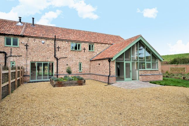 Thumbnail Barn conversion for sale in Stow Road, Wiggenhall St. Mary, King's Lynn