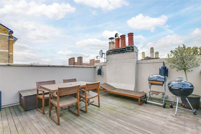 Roof Terrace of Penzance Place, London W11