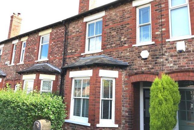 Thumbnail Terraced house to rent in Ashton Avenue, Altrincham
