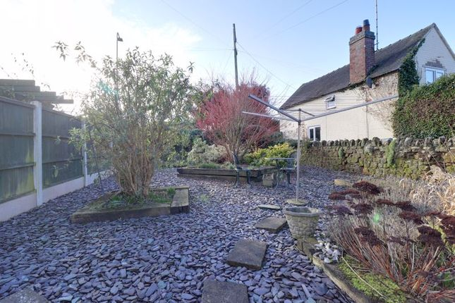 Garden of Back Lane, Gnosall, Stafford. ST20