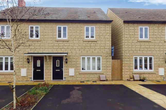 Thumbnail Semi-detached house to rent in Crista Place, Carterton, Oxfordshire