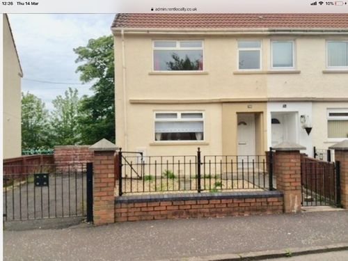Thumbnail End terrace house to rent in Burnhouse Avenue, Dalry