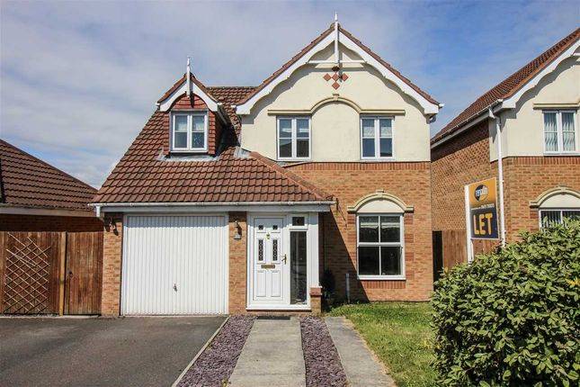 Thumbnail Detached house to rent in Longhirst Drive, Southfield Gardens, Cramlington