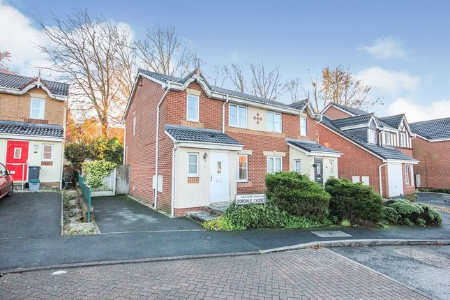 Thumbnail Semi-detached house to rent in Gordale Close, Winnington, Northwich
