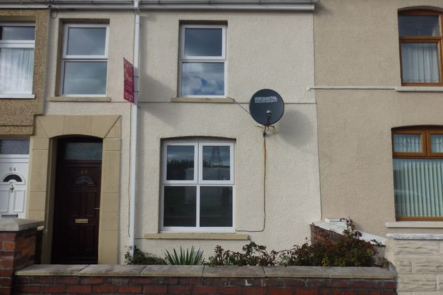 Thumbnail Terraced house to rent in Dafen Row, Llanelli